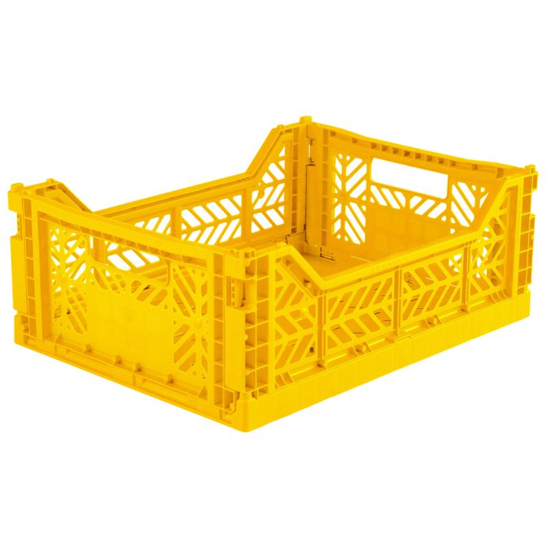 Aykasa folding crate midi - Yellow