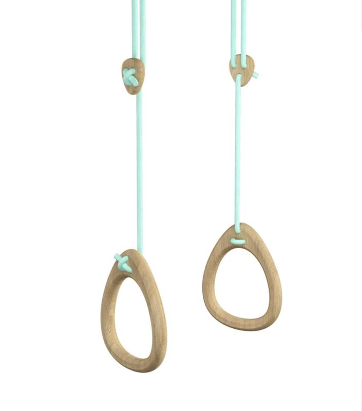 Lillagunga rings -Oak mint