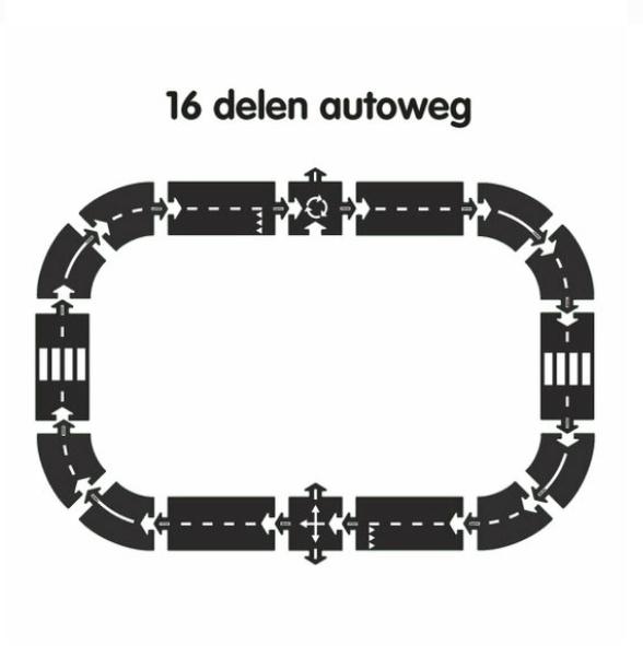 Way to play - 16 parts