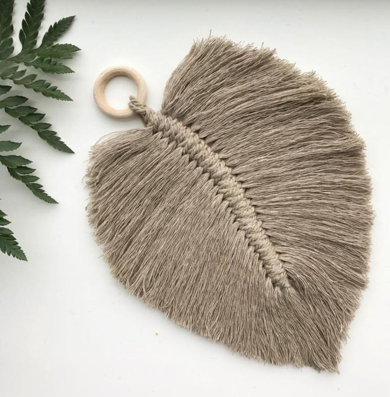 Cotton design - Feather beige