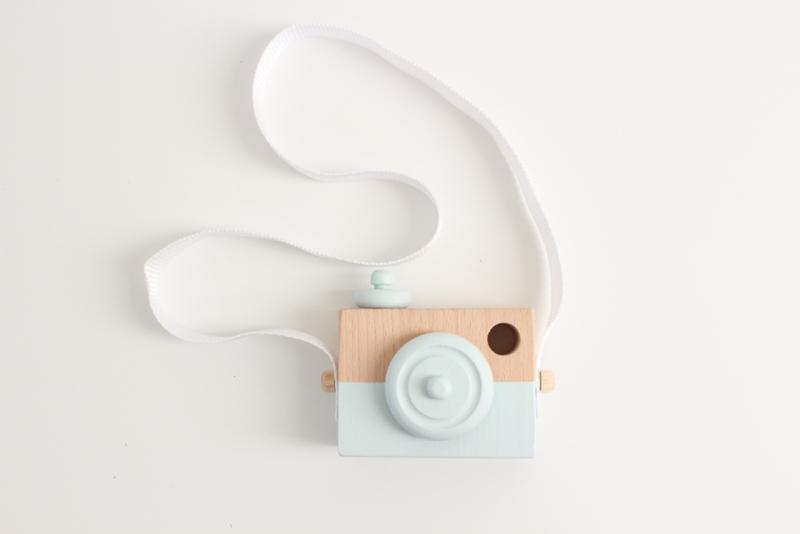 Manowoods - Houten camera mint