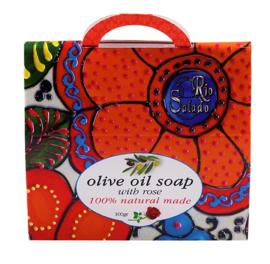 Pure olijfolie zeep - Roos