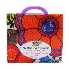 Pure olijfolie zeep - lavendel