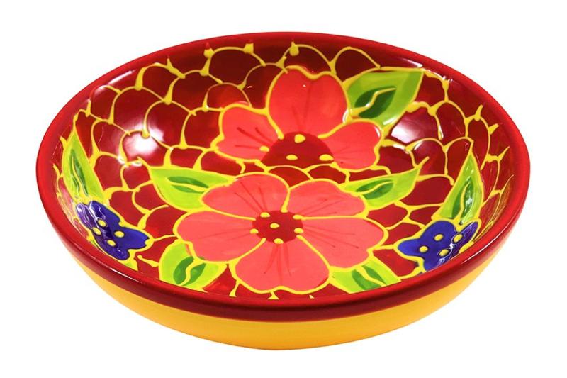 Ensaladera Florroja - 18 cm