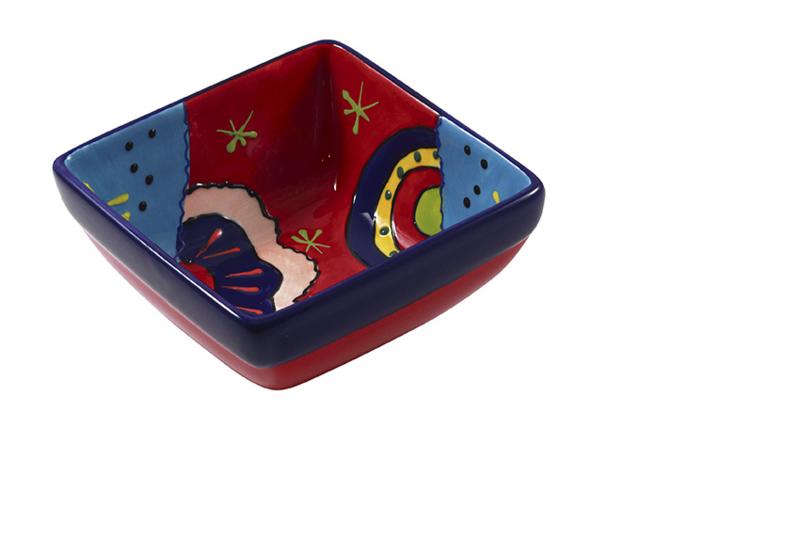 Vierkant tapasschaal 12 cm - Alegre