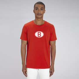 B of GNT | unisex | Bright Red