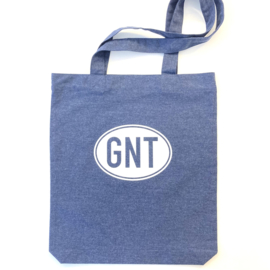 Tote bag | draagtas | heidegrijs of jeansblauw | GNT