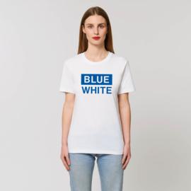 BLUE WHITE | unisex | White Blue