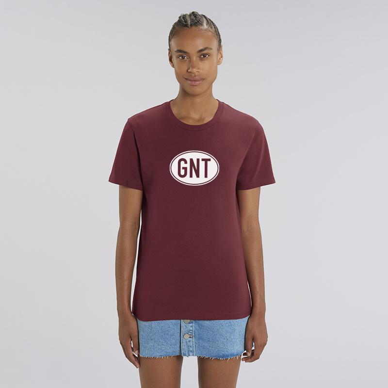 B of GNT | unisex | Burgundy