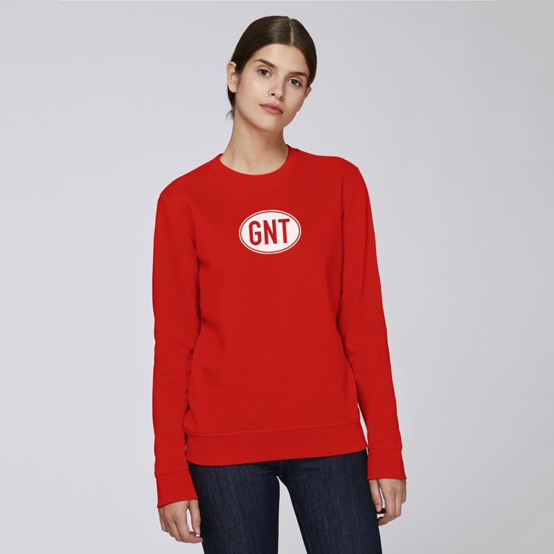 Bright Red   unisex   met GNT of B