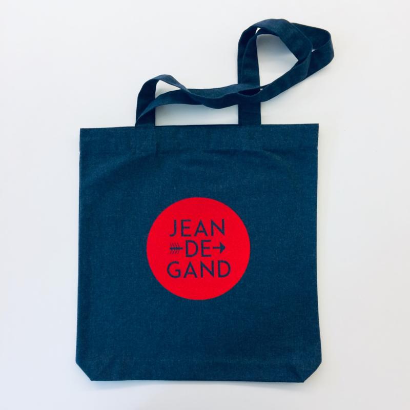 Tote bag | draagtas| heidegrijs of jeansblauw