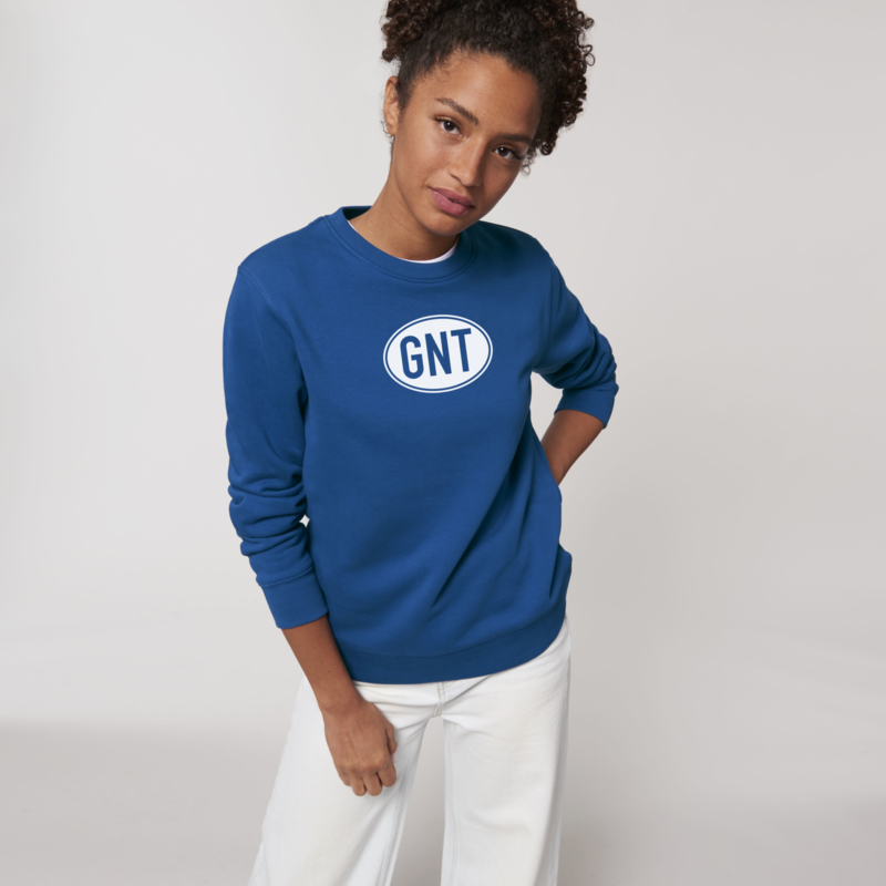 'Blue White' sweater | unisex | met GNT