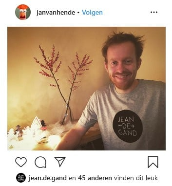 Bekerwinnaar: een échte Gentse 'Jan/Jean'