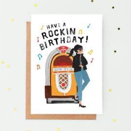 Greeting Card | Rockin' Birthday