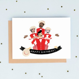 Greeting Card | Birthday Barbershop Quartet