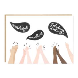 Greeting Card | Wonderful! Marvellous!