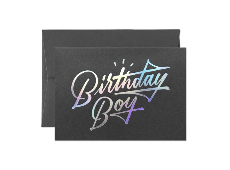Greeting Card | Birthday Boy