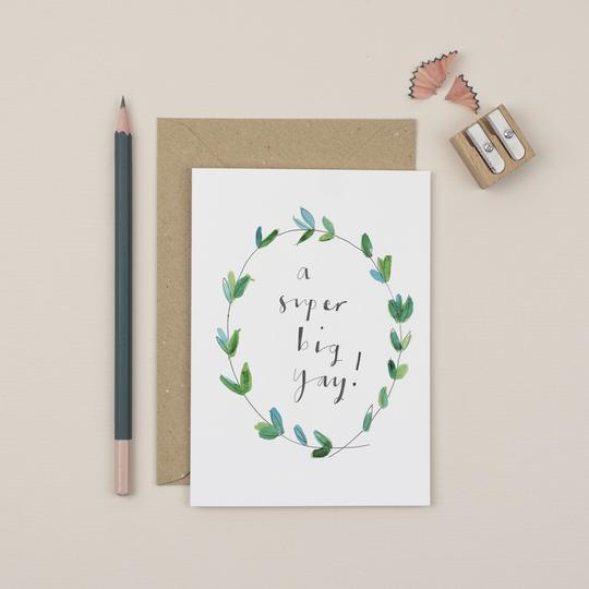 Greeting Card | Congratulations (3 designs)