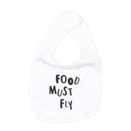 SS17' - Bib // Food must fly - White