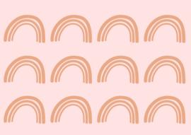 Muurstickers 'Rainbow' // Verkrijgbaar in 15 kleuren