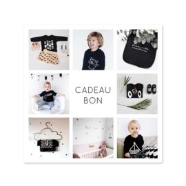 Cadeaubon // t.w.v. 15 euro