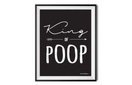 A4 Poster // King of Poop