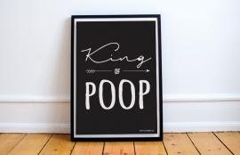 Poster // King of Poop