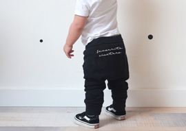 Baggy pants // Favourite Creature - Zwart