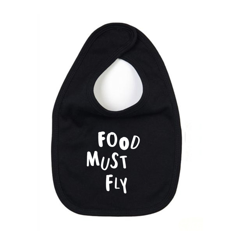 Slab // Food must fly - Zwart
