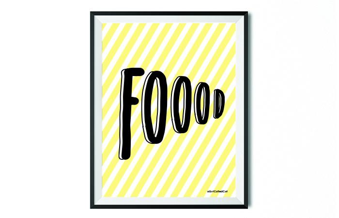 Poster // Foood