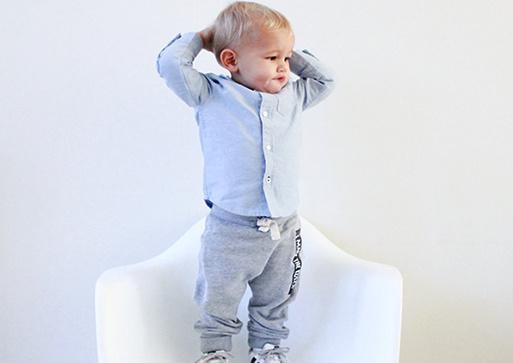 Baggy pants // I make the rules - Grijs