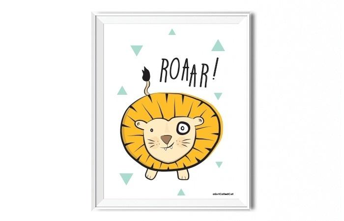Poster // Roar