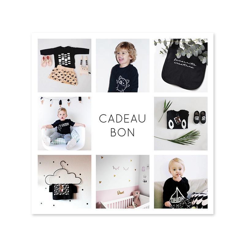 Cadeaubon //  t.w.v 50 euro