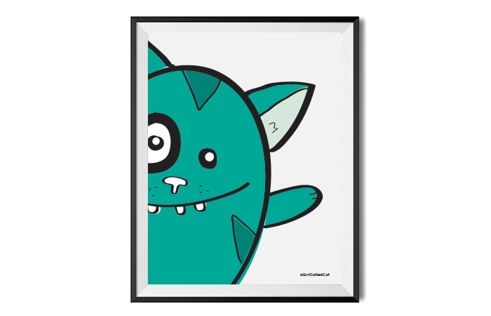 Poster // Little monster