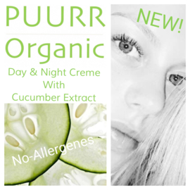 Organic Balance Day & Night Crème with Cucumber Extract