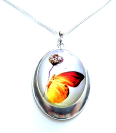 Ketting Floral Butterfly