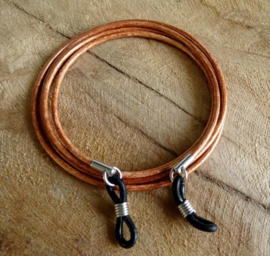 Brillenkoordje Vintage Copper Brown