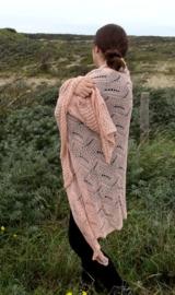 Sjaal Crochet Roze