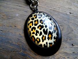 Ketting Luipaard Black