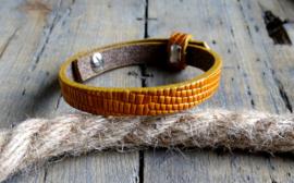 Cuoio armband Golden Harvest