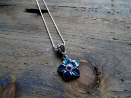 Flower Blauw
