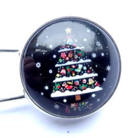 Sjaalspeld Kerstboom