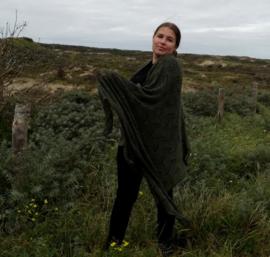 Sjaal Crochet Groen