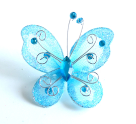 Broche Bluewing