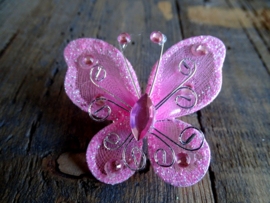 Broche Pinkwing