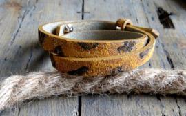 Lederen Cuoio armband
