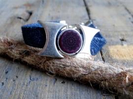 Armband Jeans Purple