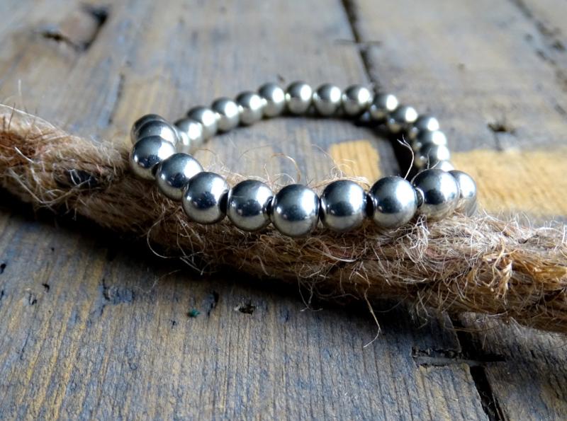 Armband BASIC Silver