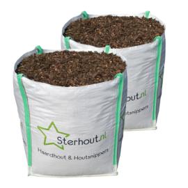 Houtsnippers compost big bag 2 kuub