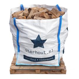 Stookmix haardhout in big bag 1 kuub